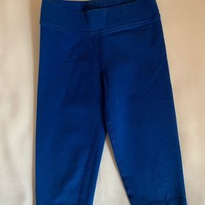 Primary Royal Blue Capri Leggings